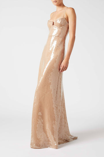 Liquid Sequin Phoebe Dress