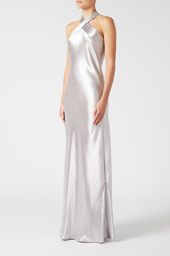 Metallic Eve Dress