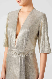 Metallic Galaxy Jumpsuit