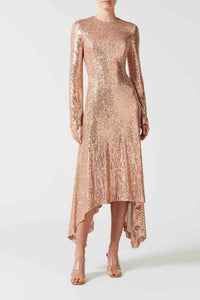 Modern Love Dress - Rose Gold