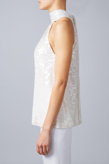 Moonlight Sash Neck Bridal Top