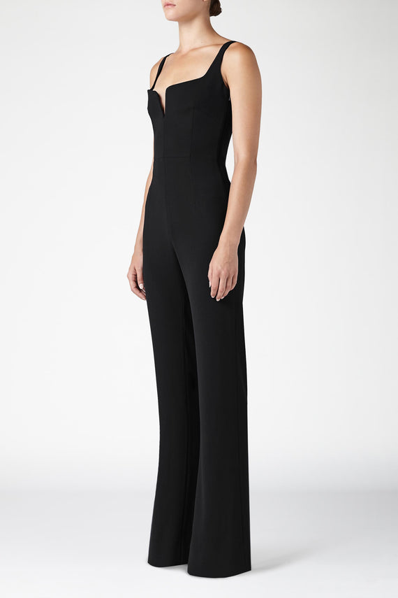 Signature Corset Jumpsuit - Black