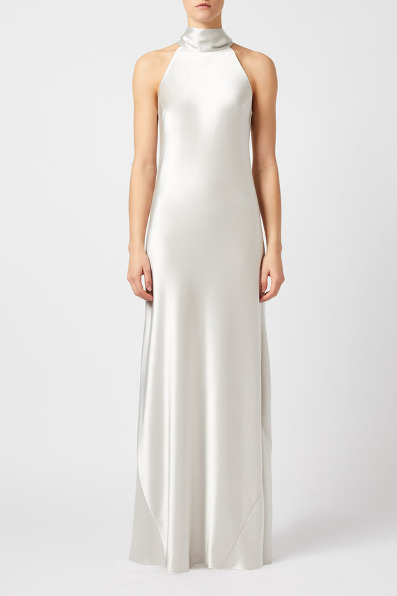 Sienna Dress - Platinum