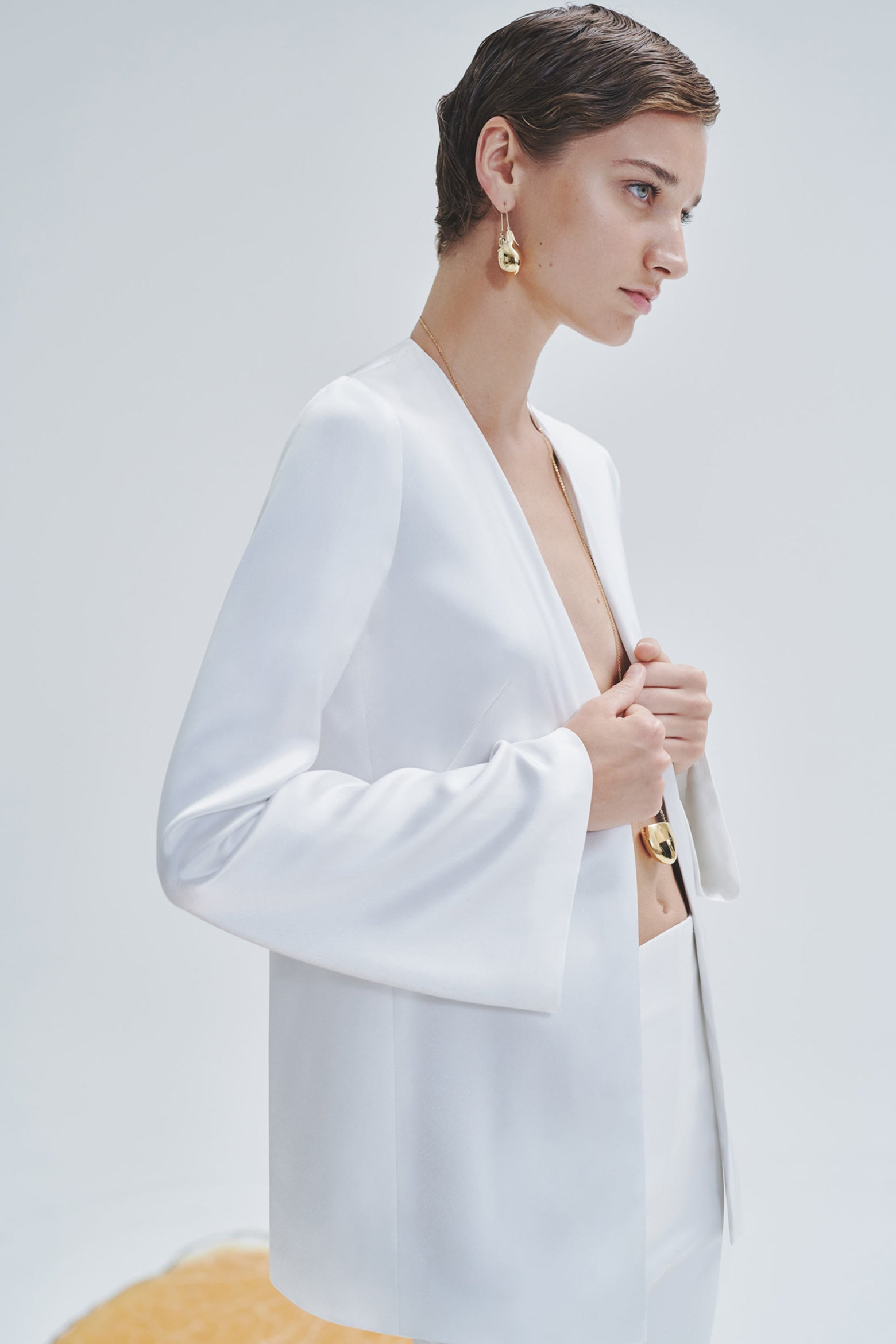 Blenheim Satin Bridal Jacket