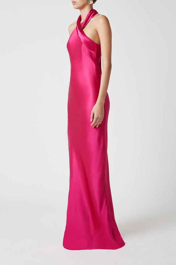 Pandora Dress - Fuchsia