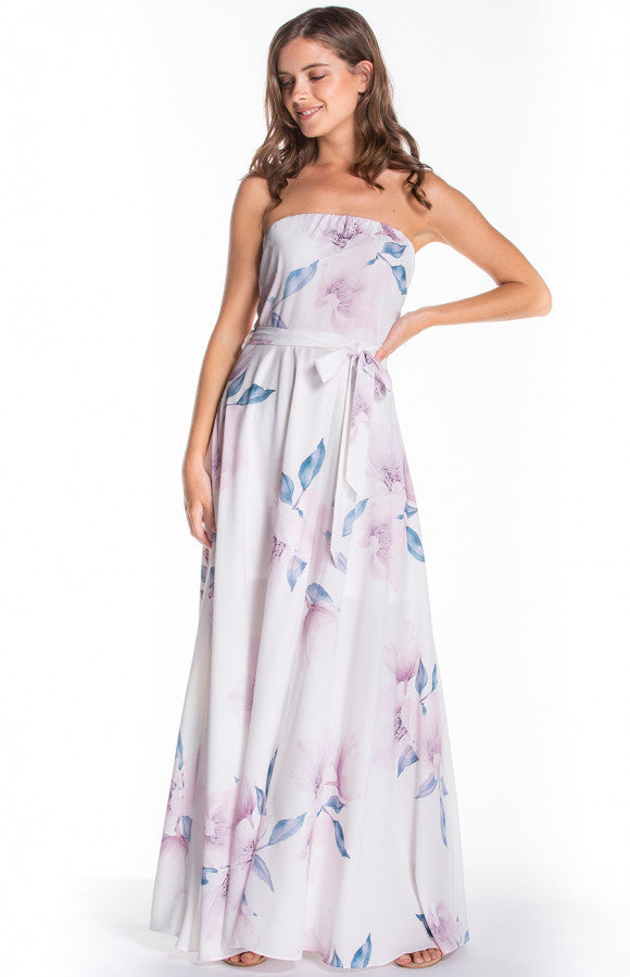 Carly Strapless Maxi Dress