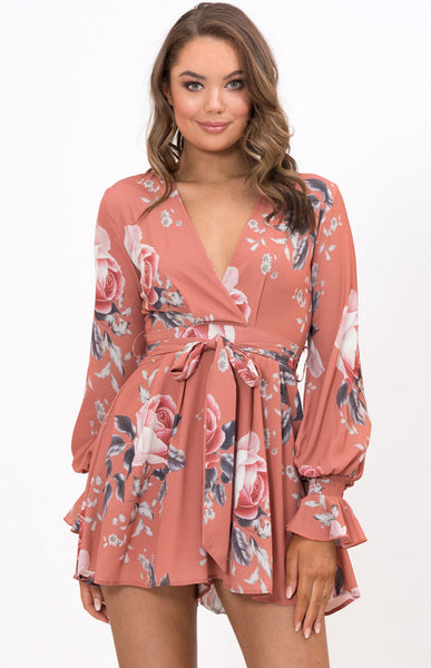 Wild Floral Playsuit