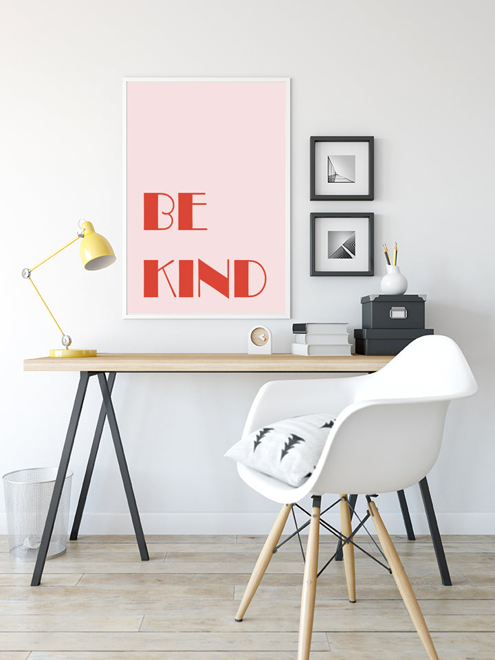 Be Kind - Typography Print