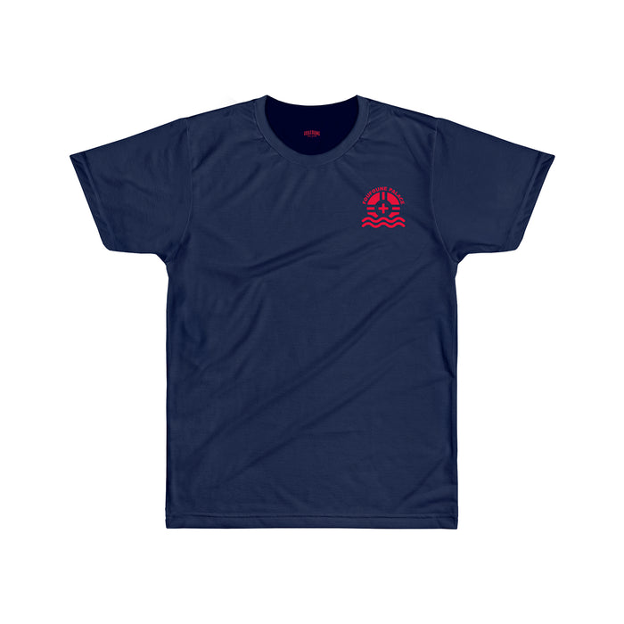 "T-shirt • ""Lifeguard - navy"""