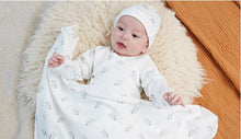 Load image into Gallery viewer, Organic BABA Swaddle Blanket