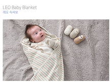 Load image into Gallery viewer, Organic LEO Swaddle Blanket