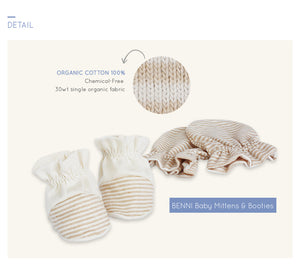 Organic BENI Mittens & botties bundle
