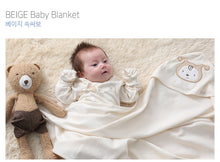 Load image into Gallery viewer, Organic BEIGE Swaddle Blanket