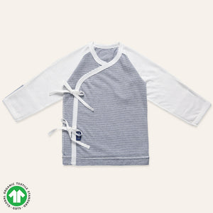 Organic NAVY Striped Newborn Jergori