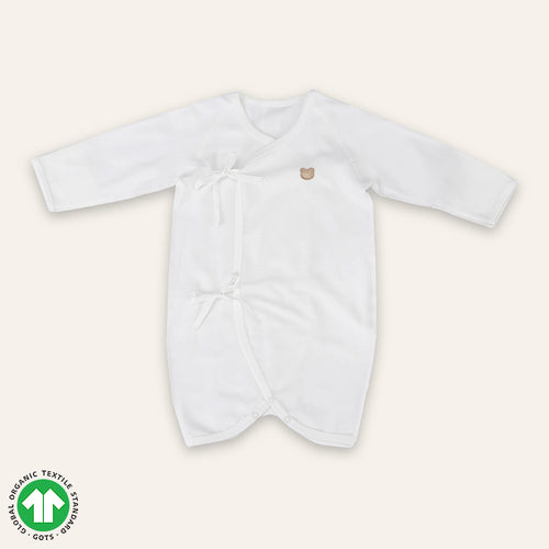Organic WHITE Newborn Suit