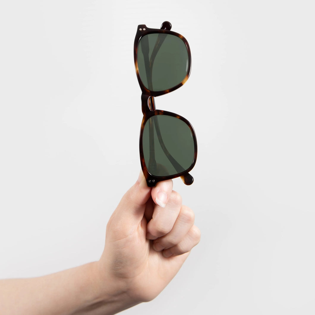 Will - Tortoise Square Sunglasses