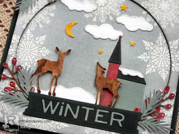 Winter Theme Card by Audrey Pettit | www.rangerink.com