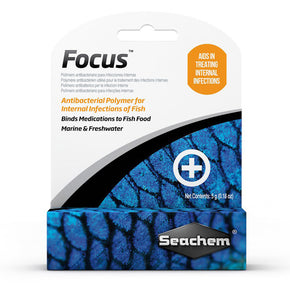 Seachem Focus (Fungal/Bacterial) - Aquatica Aquarium Gallery Fish Store Cleveland Ohio