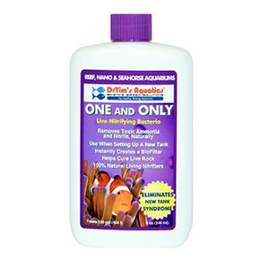 Dr. Tim's One & Only Live Nitrifying Bacteria (Reef) - Aquatica Aquarium Gallery Fish Store Cleveland Ohio