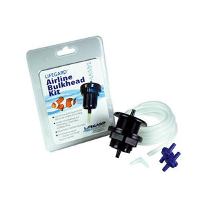 Lifegard Airline Bulkhead Kit - Aquatica Aquarium Gallery Fish Store Cleveland Ohio
