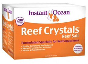 Instant Ocean Reef Crystals Reef Salt - Aquatica Aquarium Gallery Fish Store Cleveland Ohio