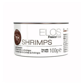 ELOS Fresco Food - Shrimps 100 gram - Aquatica Aquarium Gallery Fish Store Cleveland Ohio