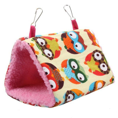 Plush Bird Hanging Tent Nest - Pets.al