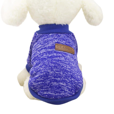 Classic Winter Sweater for Small Dogs - Pets.al