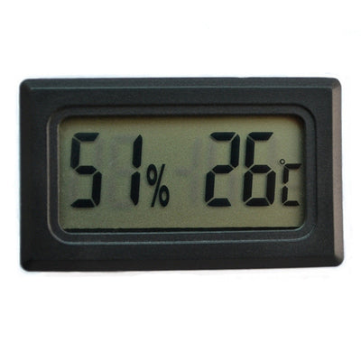 Reptile Mini Thermometer & Hygrometer With Electronic Digital Display