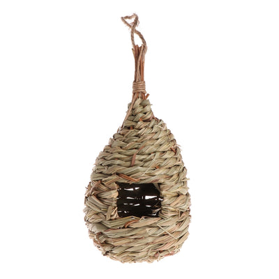 Straw Weaved Hanging Bird Nest House