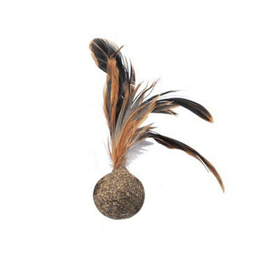 Cat Catnip Mint Ball With Feather - Pets.al