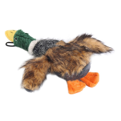 Dog Chew Toy Duck Design With Integrated Squeaker - Pets.al