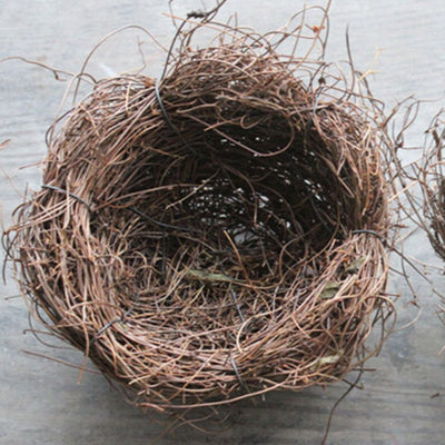 Vintage Natural Bird Nest - Pets.al