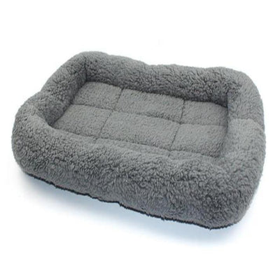 Plush Pet Sleeping Bed Grey - Pets.al