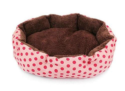 Washable Warm Sleeping Bed With Spots Print - Pets.al