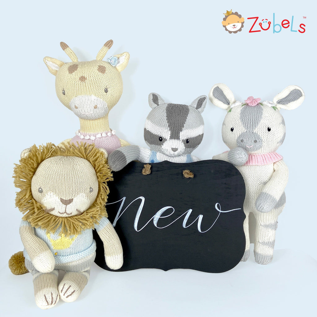 HELLO WORLD! Joyfully introducing Zubels New Nursery Knit Dolls