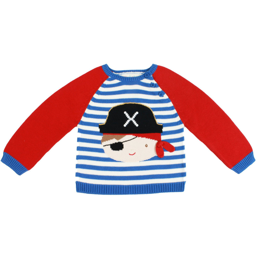 Pirate Knit Sweater - Petit Ami & Zubels    All Baby!