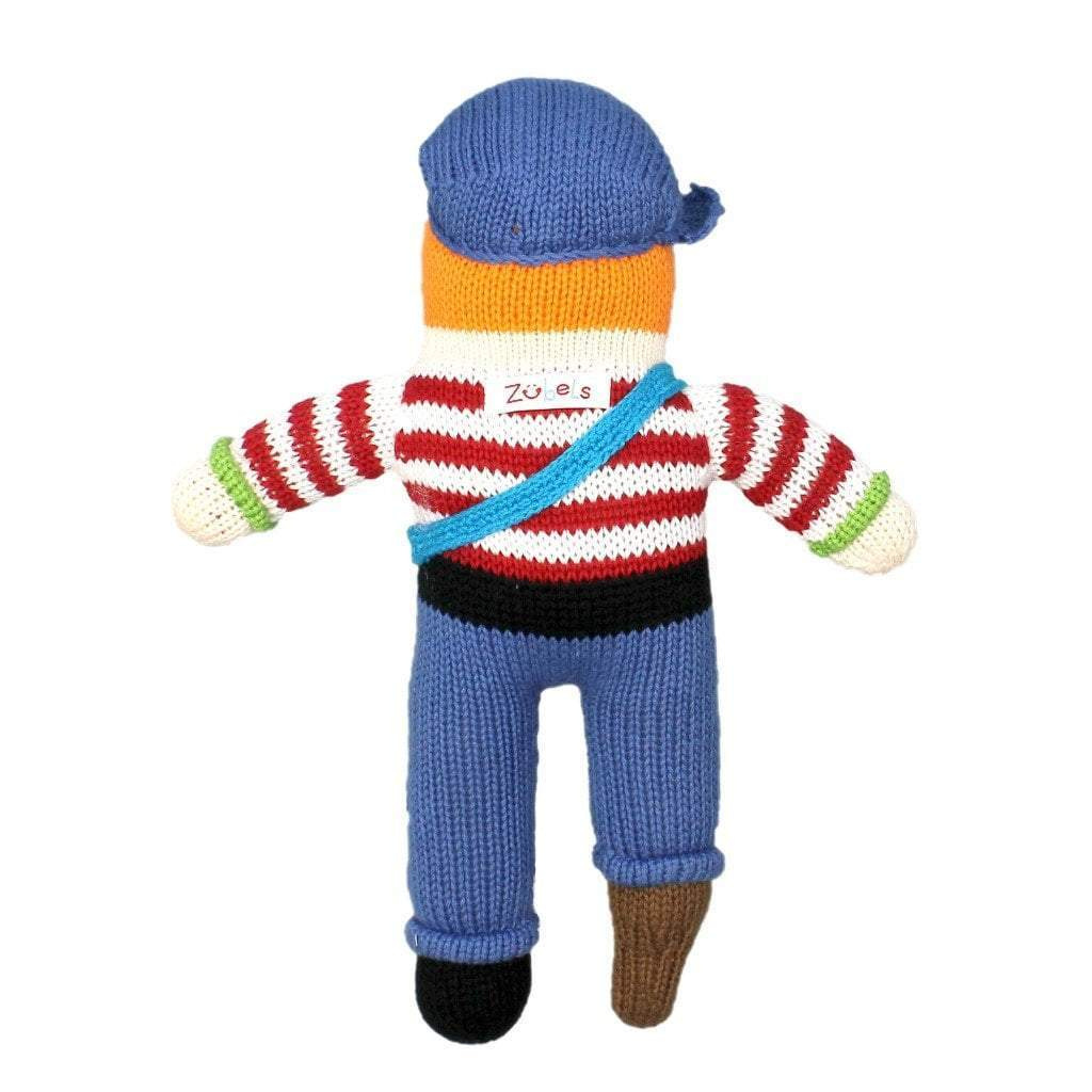Arrr-Nee The Pirate Hand Knit Doll - Petit Ami & Zubels    All Baby!