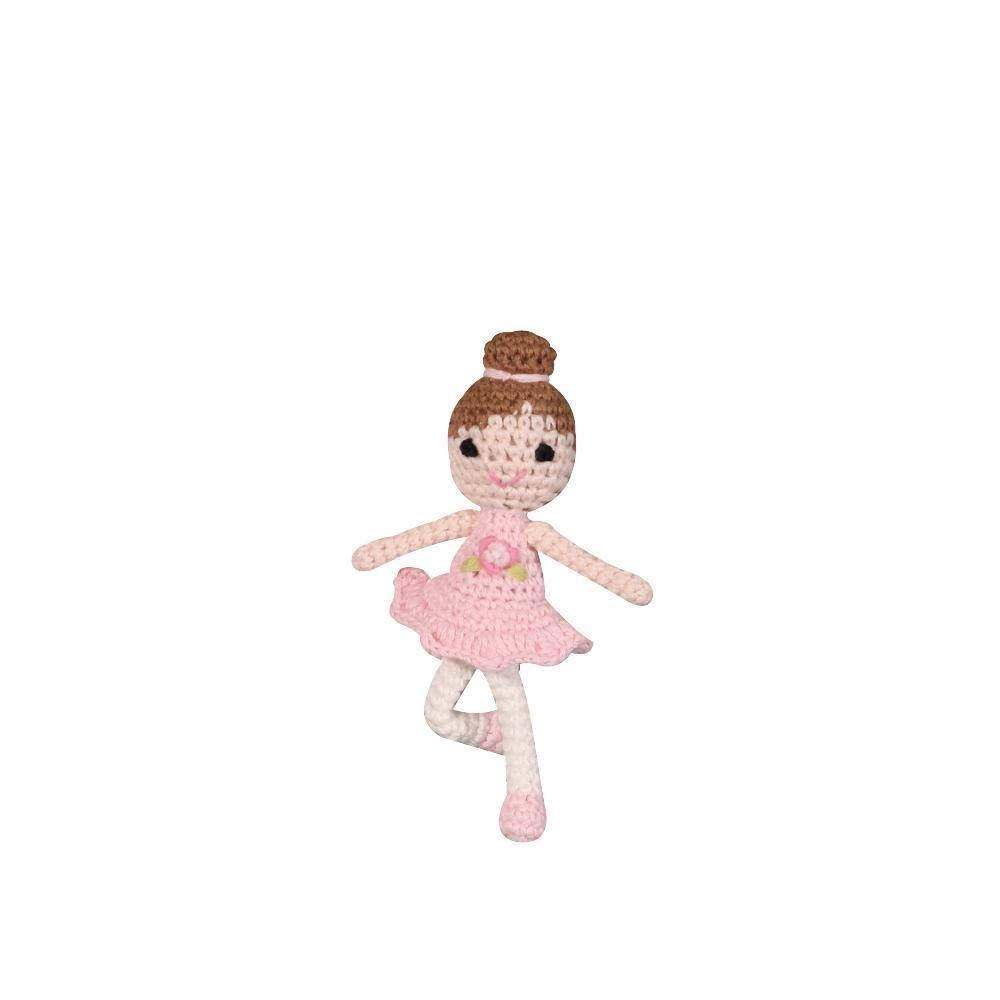 Ballerina Crochet Doll Dimple Darling - Petit Ami & Zubels    All Baby!