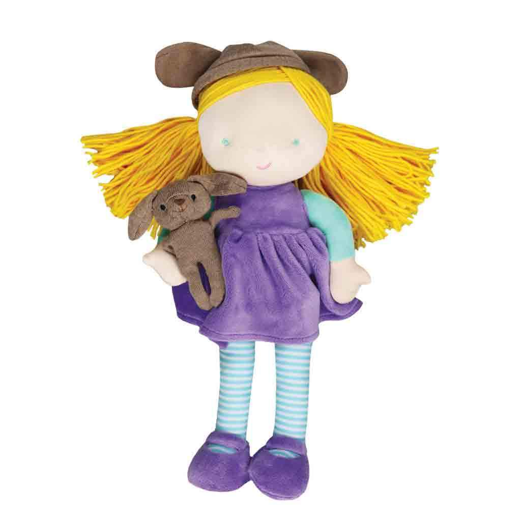 Kara Kindness Doll & Little Puppy - Petit Ami & Zubels    All Baby!