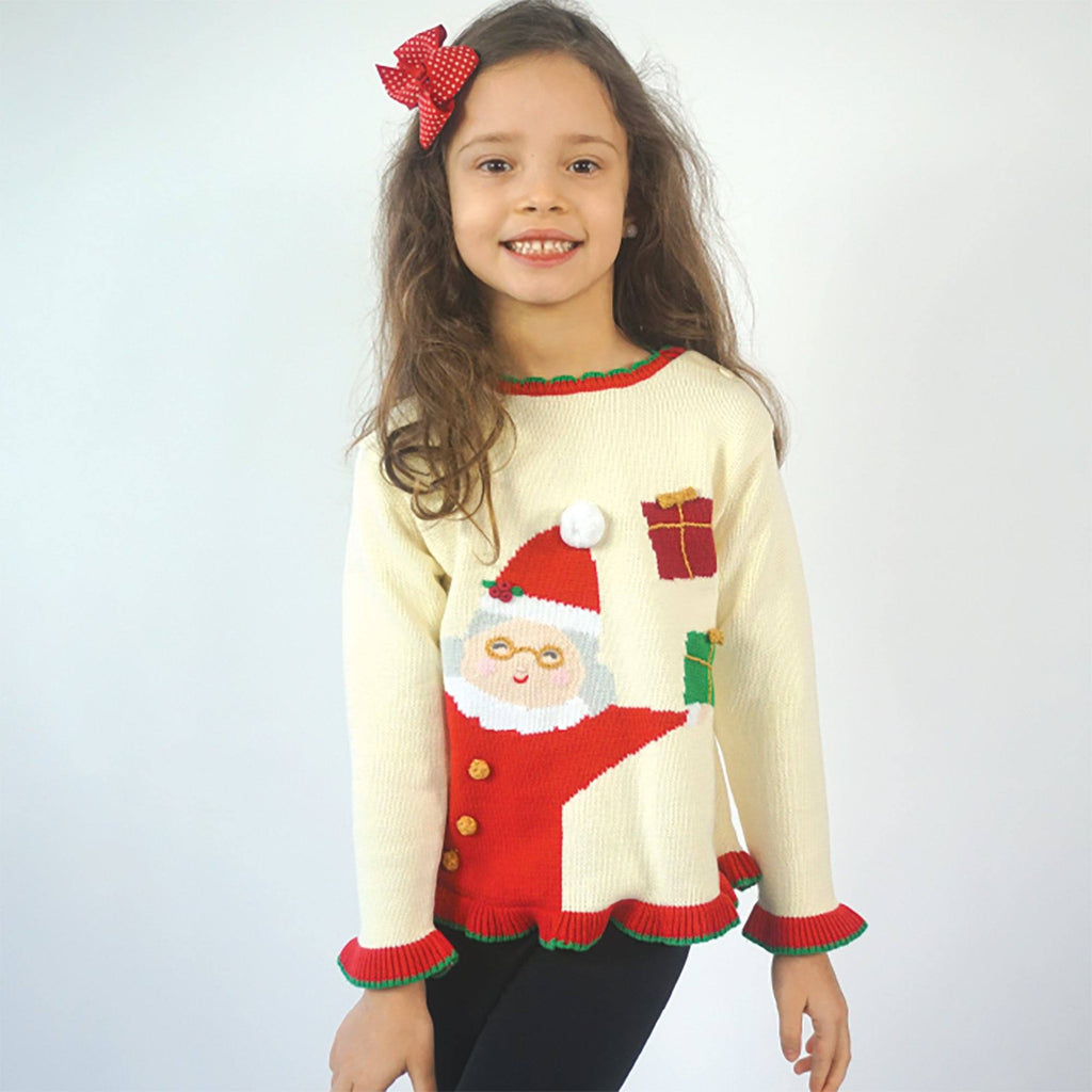 Mrs. Claus Knit Santa Sweater