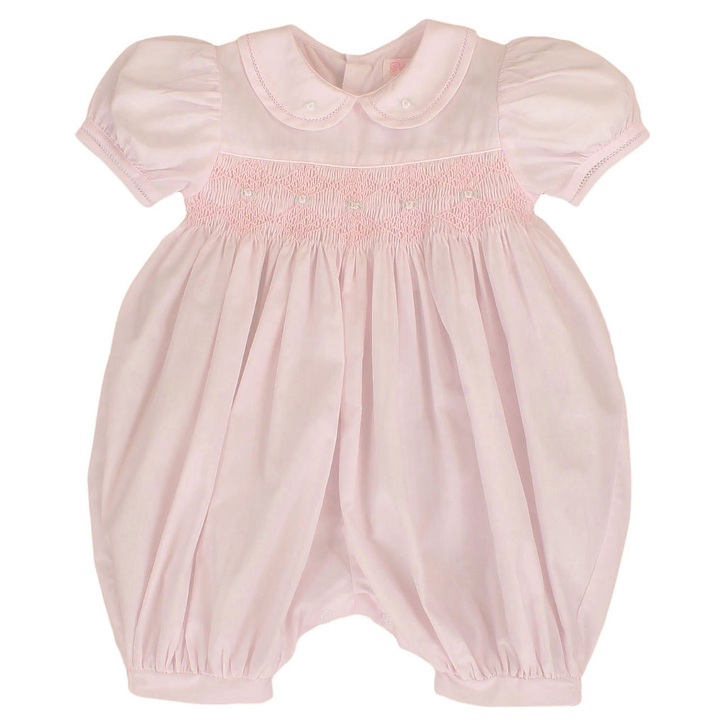 French Bubble with Diamond Smocking bubble petit ami 3M Pink
