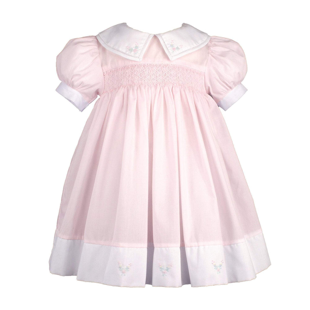 petit ami dress 12M Girls Split Collar Smocked Dress