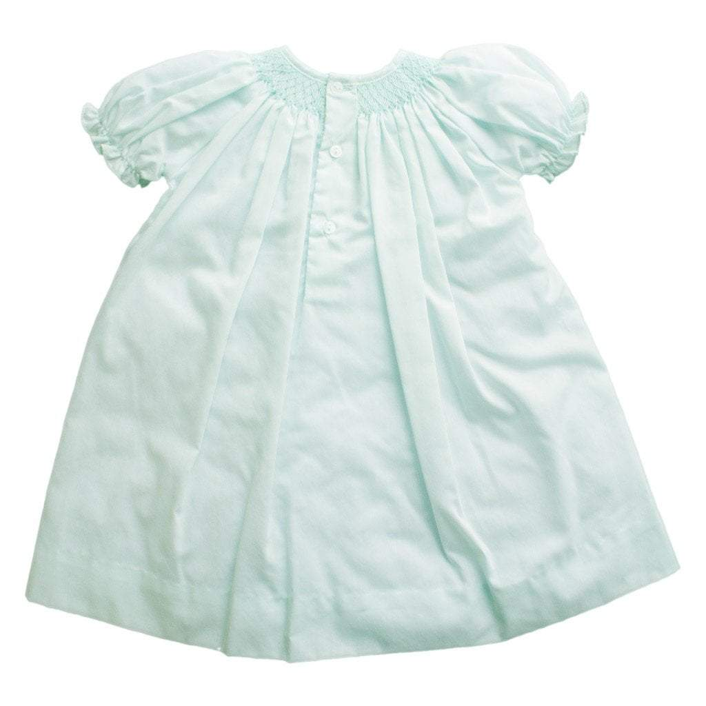 Smocked Daygown with Raglan Embroidery - Petit Ami and Zubels baby toys and gifts