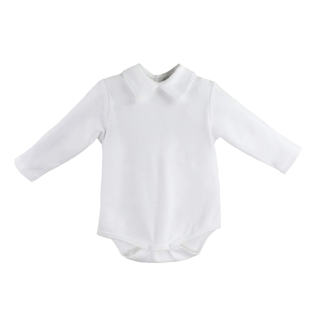 Organic Cotton Knit Long Sleeve Onesie - Petit Ami and Zubels baby toys and gifts toddler child