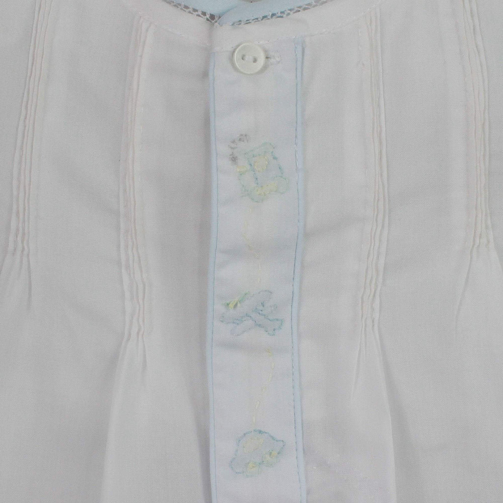 Layette Transportation Shadow Stitch Bubble - Petit Ami & Zubels    All Baby!