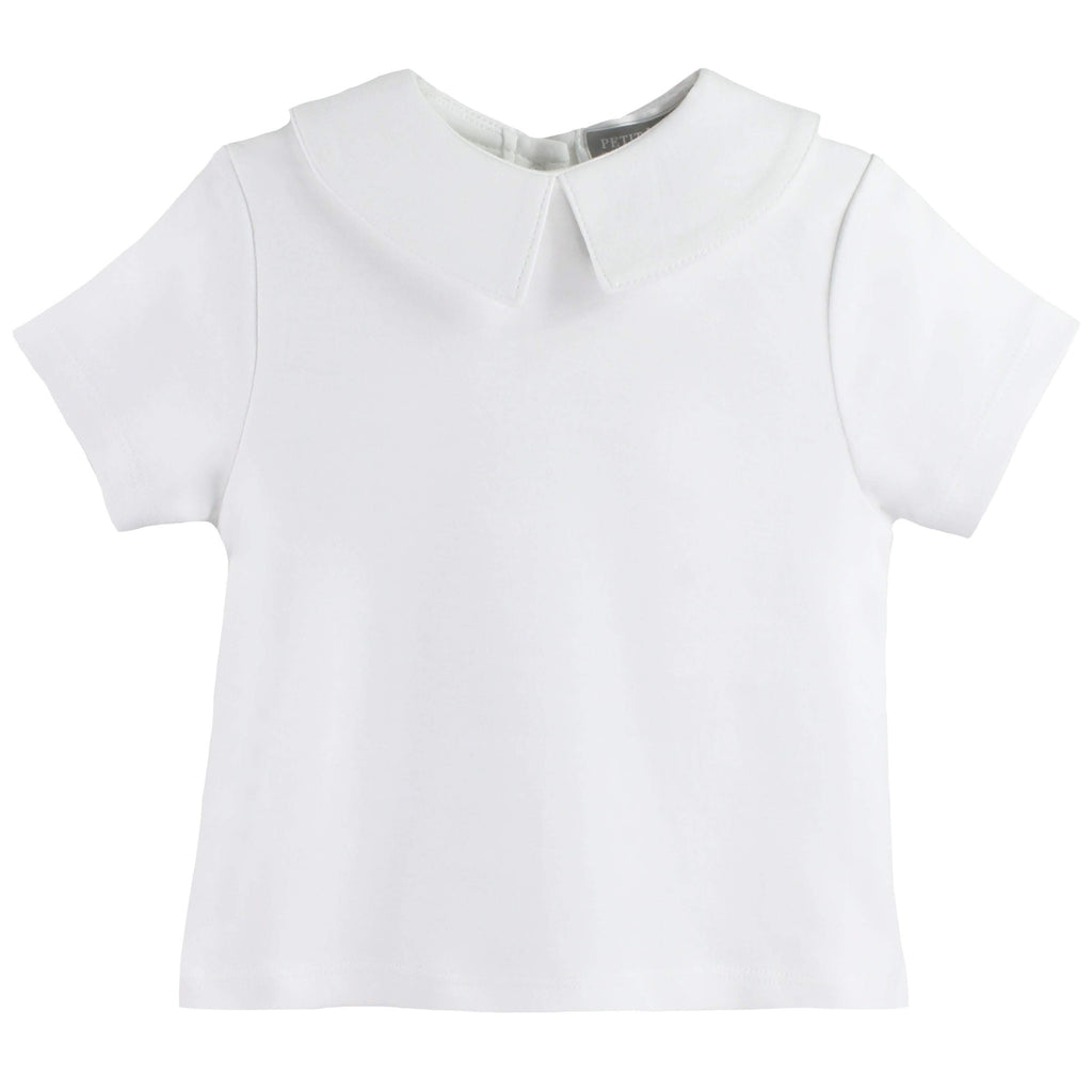 petit ami play wear Organic Cotton Knit Short Sleeve Shirt