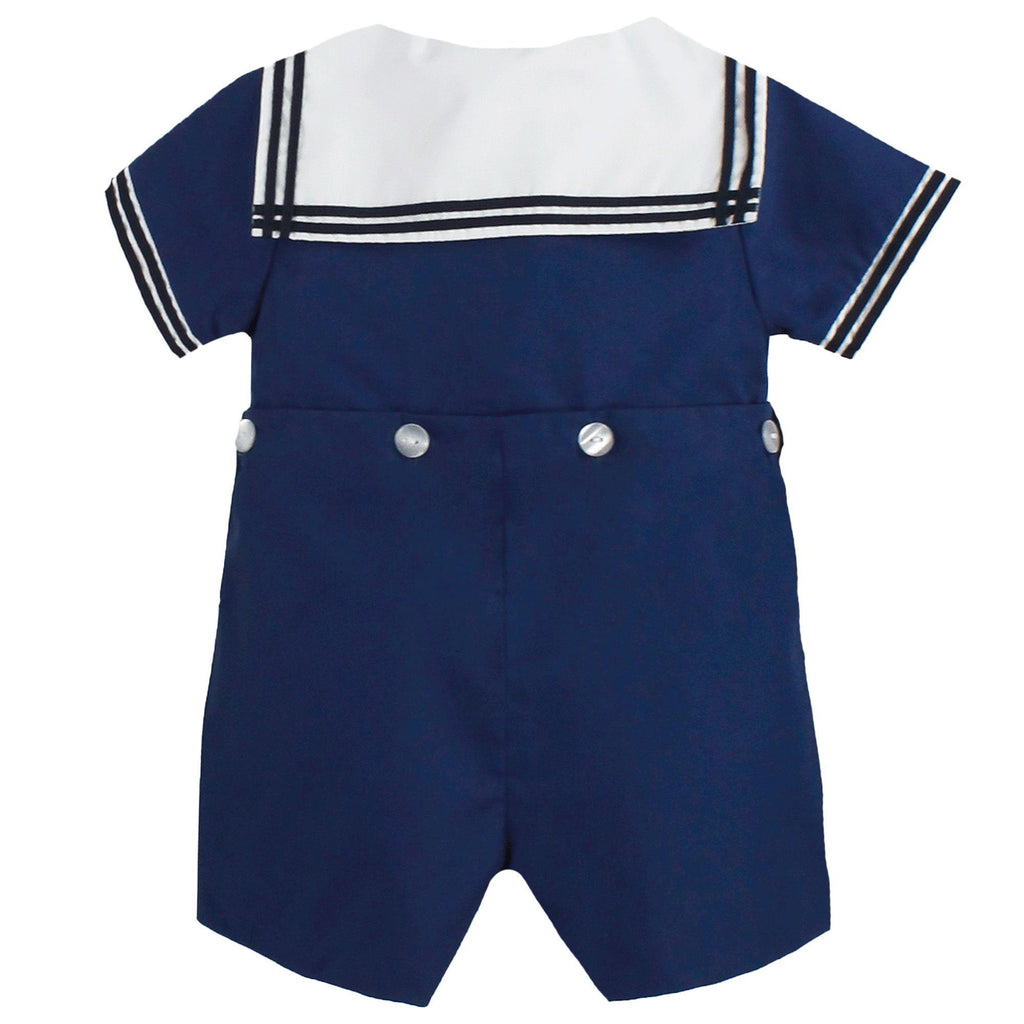 Nautical Bobby Suit - Petit Ami and Zubels baby toys and gifts toddler child