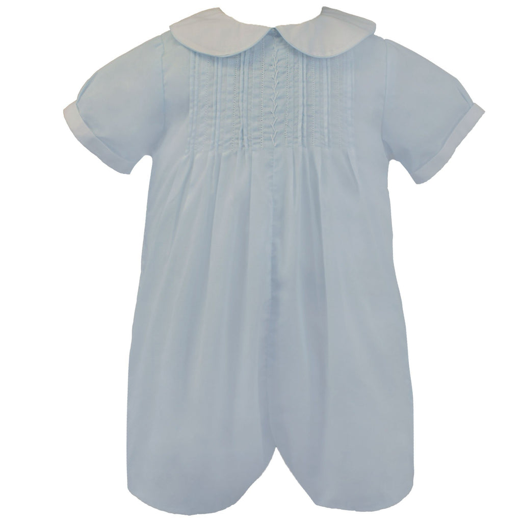 Romper with Pull and Draw Stitching - Petit Ami & Zubels    All Baby!