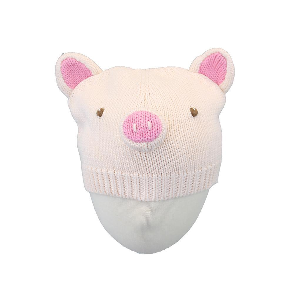 Pig Knit Hat hat zubels